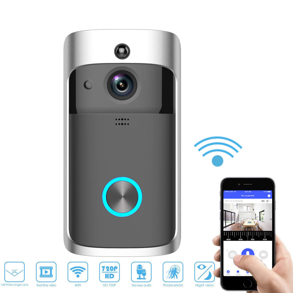 Free Shipping!! Smart WiFi Video Doorbell
