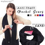 Anti Theft Scarf