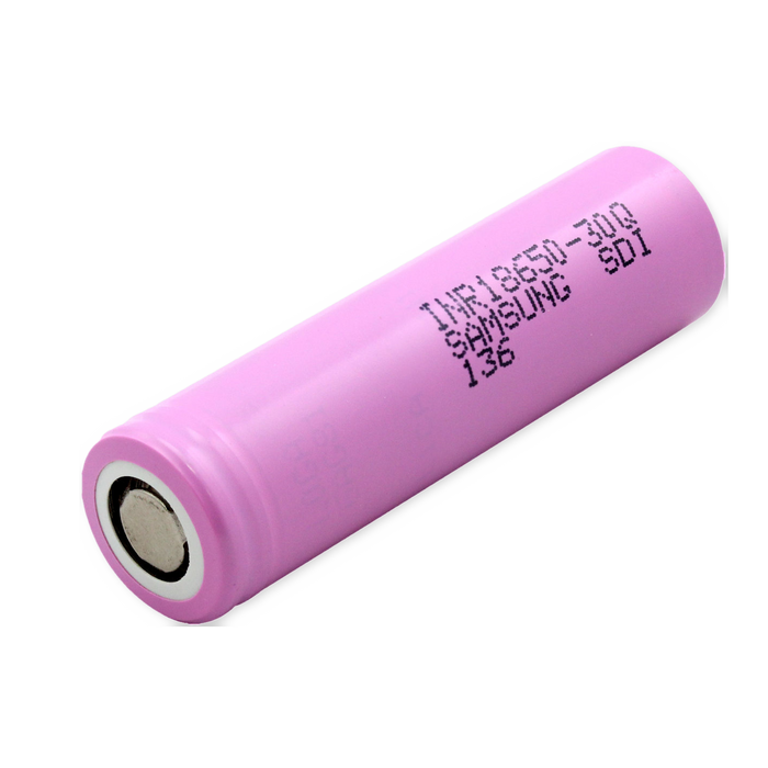 Samsung INR 18650 15A 3000mAh Lithium Ion Battery 3.7V 30Q