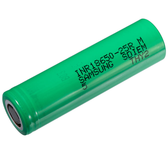 Samsung INR 18650 20A 2500mAh Lithium Ion Battery 3.7V 25R