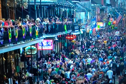 The Sounds of Mardi Gras