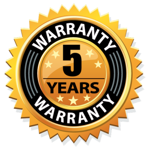 Five Year Warranty Icon
