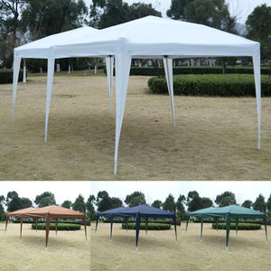 10' x 20' EZ POP UP Folding Wedding Party Tent Cross-Bar Coffee - NutritionalInstitute.com