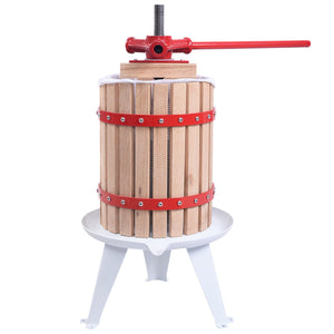 1.6 Gallon Fruit Wine Press Cider Juice Maker Tool - NutritionalInstitute.com