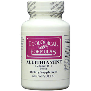 Ecological Formulas Allithiamine Vitamin B1 50 mg 250 caps ALLI 250 ME