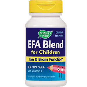 Nature's Way EFA Blend for Children 120 gels 14181 ME