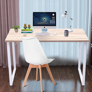 Simplistic Durable Wood Writing Computer Desk Coffee