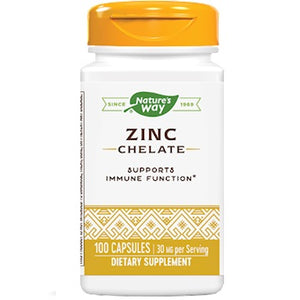 Nature's Way Zinc 30 mg 100 caps 41091 ME
