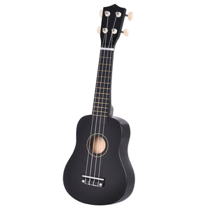 "21"" 4-String Acoustic Ukulele Guitar Coffee"