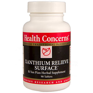 Health Concerns Xanthium Relieve Surface 90 tabs