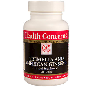 Health Concerns Tremella & American Ginseng™ 90 tabs