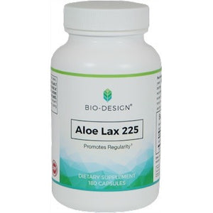 Biodesign Aloe Lax 225 Support Daily Elimination Promote Regularity 180 Caps EM