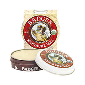 W.S. Badger Company Mustache Wax .75 oz ME