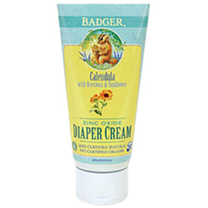 W.S. Badger Company Zinc Oxide Diaper Cream 2.9 fl oz ME