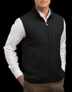 Scottevest RFID Travel Vest for Men with Zipper 26 Pockets Black XLarge - NutritionalInstitute.com