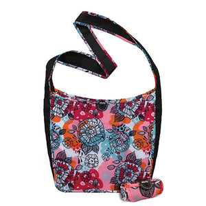 Chicobag Cross Body Bags Sidekick Flora, Crimson Crush 233275 OC