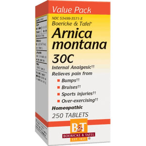 Boericke Tafel Arnica Montana Support Minor Muscle Or Joint Aches And Pain 30C 250 Tablets - NutritionalInstitute.com