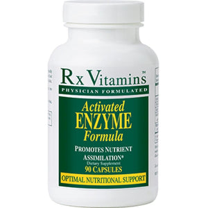 Rx Vitamins Activated Enzyme 90 caps ME