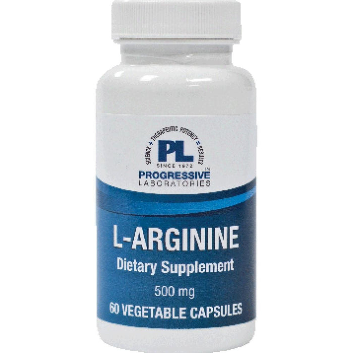 Progressive Labs LArginine 500 mg 60 vcaps 485 ME