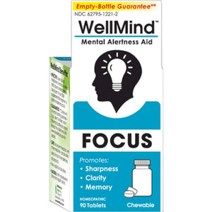 WellMind Focus Tablets Lemon 90 tabs