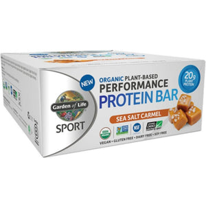 Sport Bar Sea Salt Caramel 12 Bars