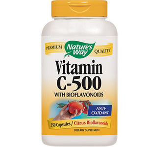 Nature's Way Vitamin C w Bioflavonoids 250 caps 40331 ME