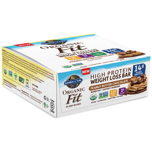 Organic Fit Bar PB Choc 12 Bars