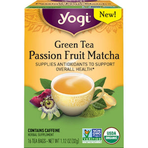 Green Tea Passion Frt Matcha 16 tea bags