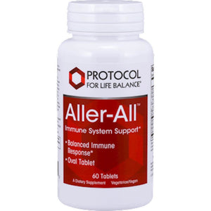 Protocol For Life Balance AllerAll™ Helps To Modulate The Immune Systems Inflammatory Response 60 Tablets