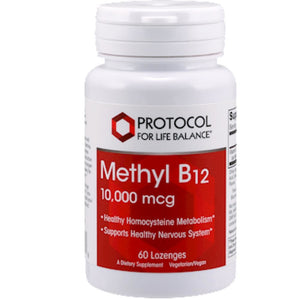Methyl B12 10,000 mcg 60 lozenges