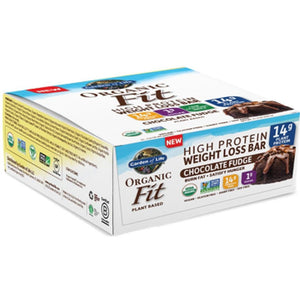 Organic Fit Bar Choc Fudge 12 Bars