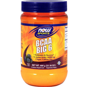 Now BCAA Big 6 Grape 600 g ME