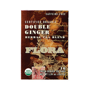 Flora Double Ginger 16 teabags