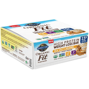 Organic Fit Bar SeaSlt Car 12 Bars