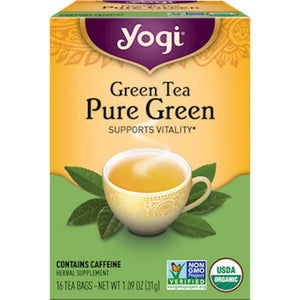 Pure Green 16 tea bags