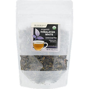 Dr. Mercola Himalayan White Loose Tea Org 1.27 oz 40136