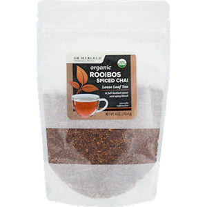 Dr. Mercola Organic Rooibos Spiced Chai Loose Tea 40135