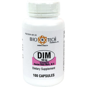 Bio-Tech DIM Support Healthy Breast, Cervical, Uterine And Prostate Tissues 100 Mg 100 Capsules ME