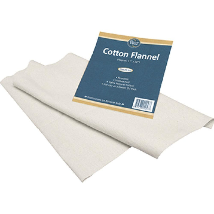 Baar Products Cotton Flannel for Castor Oil 1 Pk 759 ASD ME