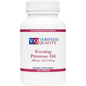 Verified Quality Evening Primrose Oil 500mg 100 gels VQ120 ME