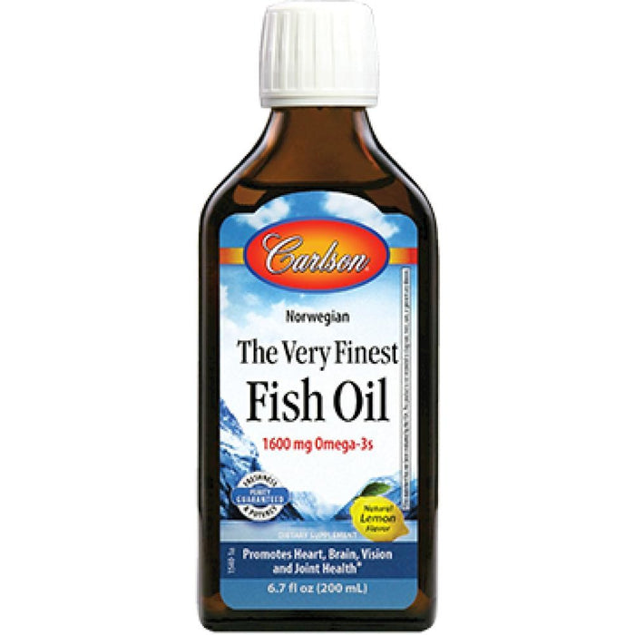 Carlson Labs Finest Fish Oil Omega 3 Supports Healthy Brain And Nervous System Function 200 Ml ME
