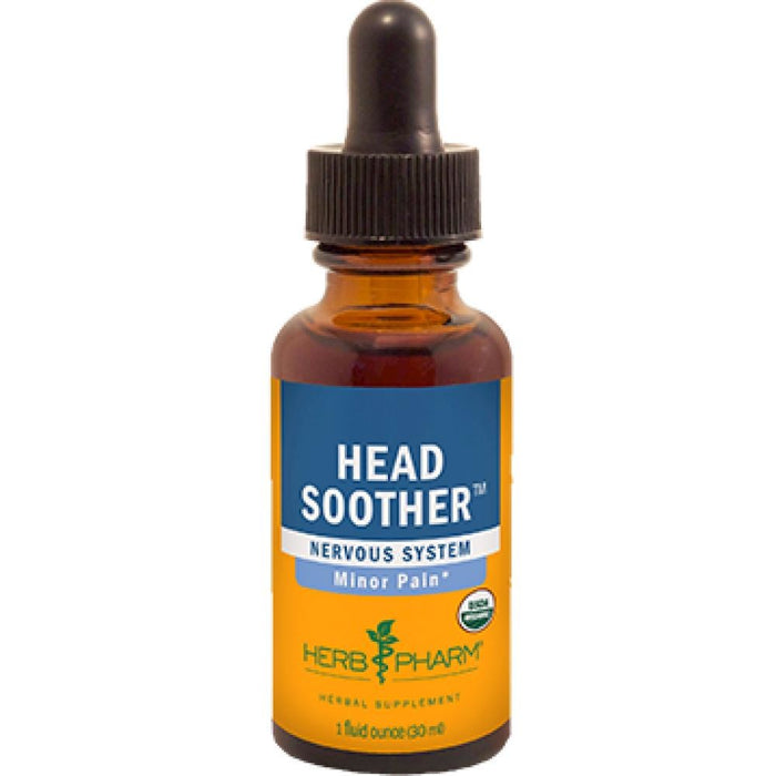 Herb Pharm Head Soother Compound 1 oz FFEV01 ME