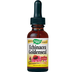 Nature's Way Echinacea Goldenseal Alcohol Free 1 oz 14663 ME