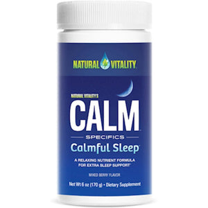 Natural Calm Calmful Sleep Mixed Berry ME