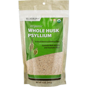 Whole Husk Psyllium 12 oz - NutritionalInstitute.com