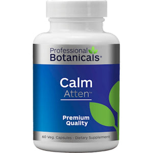 Professional Botanicals Calm Atten, Helps In The Normal Development And Maintenance Of Bones And Teeth, 60 Vegcaps