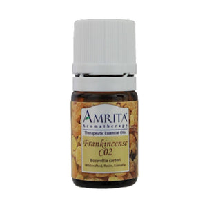 Amrita Aromatherapy Frankincense Essential Oil Supports Airborne Illnesses 5 ml ME