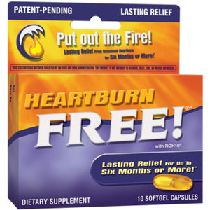 Nature's Way Heartburn Free 1000 mg 10 gels 09110 ME
