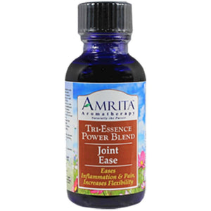 Amrita Aromatherapy Joint Ease (topical) Helps Joint Flexibility and Pain, Deeply penetrating 30 ml
