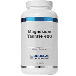 Douglas Labs Magnesium Taurate 400 mg 120 tabs 83071120X